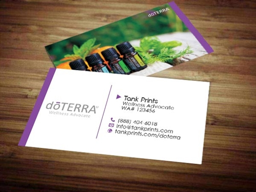 doTERRA business cards 8