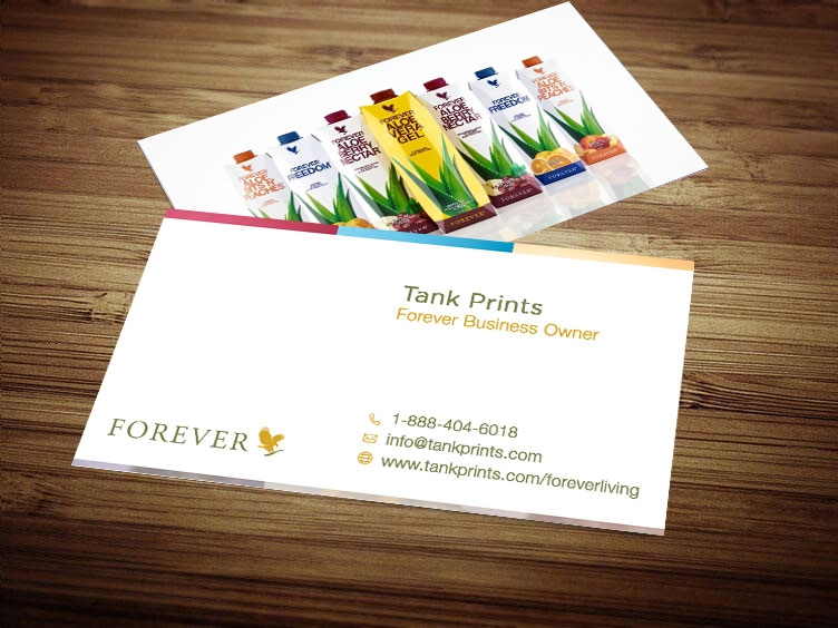 Forever living business card design 3 tank prints 1 review reheart Image collections