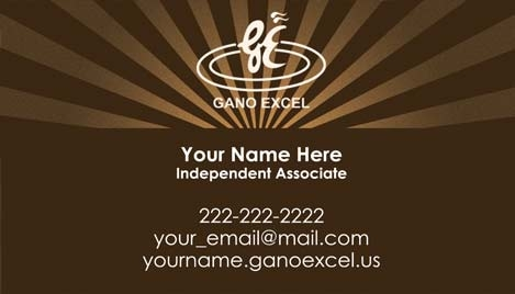 Gano excel business card design 3 reheart Choice Image