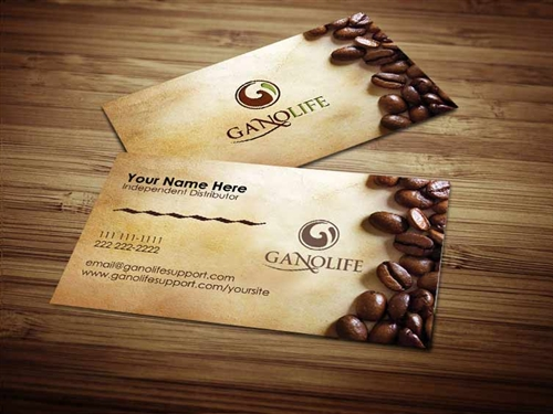 Gano life business card design 1 colourmoves