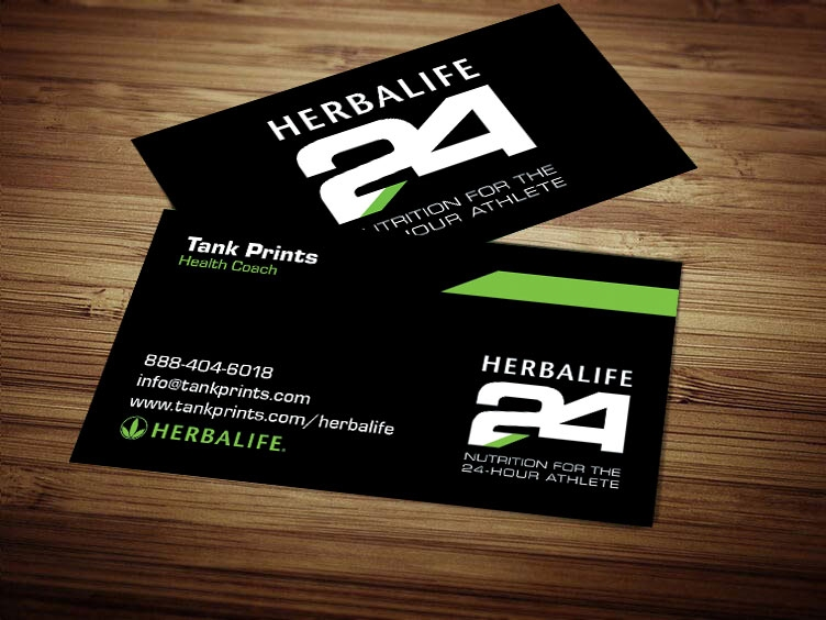 Herbalife 24 business cards 2