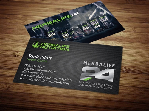 herbalife business cards 4