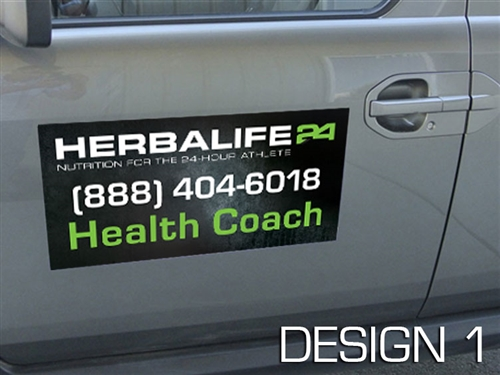 herbalife car magnets