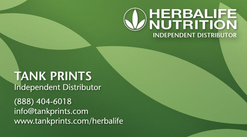 Herbalife Business Card Design Tank Prints - Herbalife business card templates