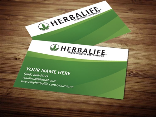 herbalife business cards 2