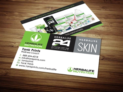 herbalife business cards 7