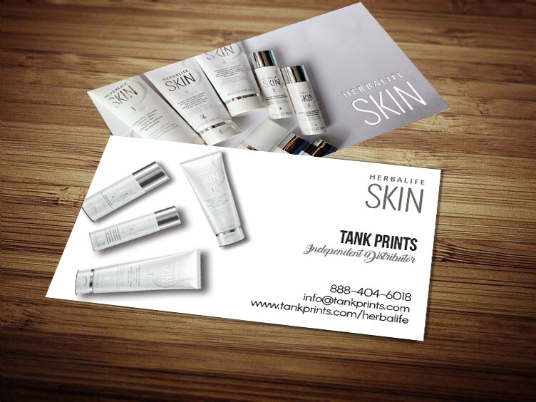 herbalife skin business cards 2