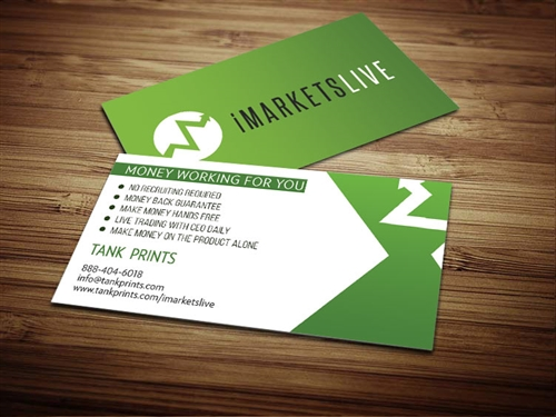 iMarketsLive  business cards 1