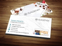 Isagenix business card template 3