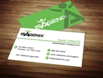Isagenix business card template 5