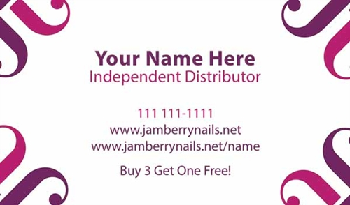 Jamberry business card design 2 reheart Images