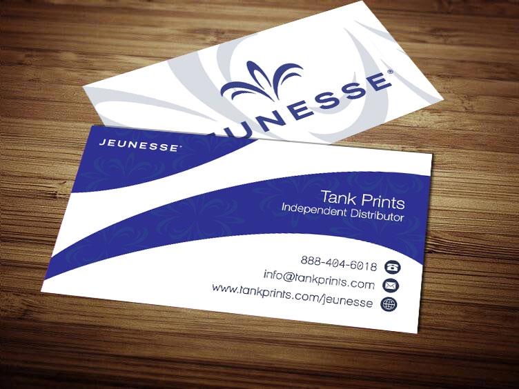 Jeunesse Business Card Design 1
