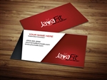 JavaFit business cards 2