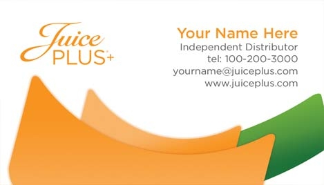 juice plus business card design 2. Black Bedroom Furniture Sets. Home Design Ideas
