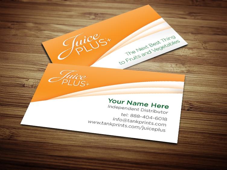 Juice plus business card design 3 colourmoves