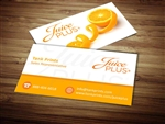 juice plus business card design 4