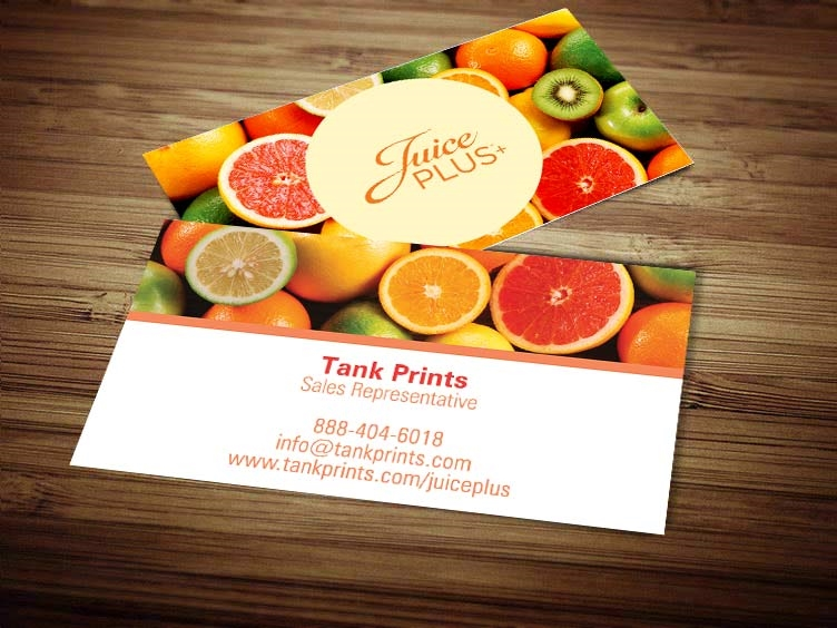 Juice plus business card design 5 colourmoves