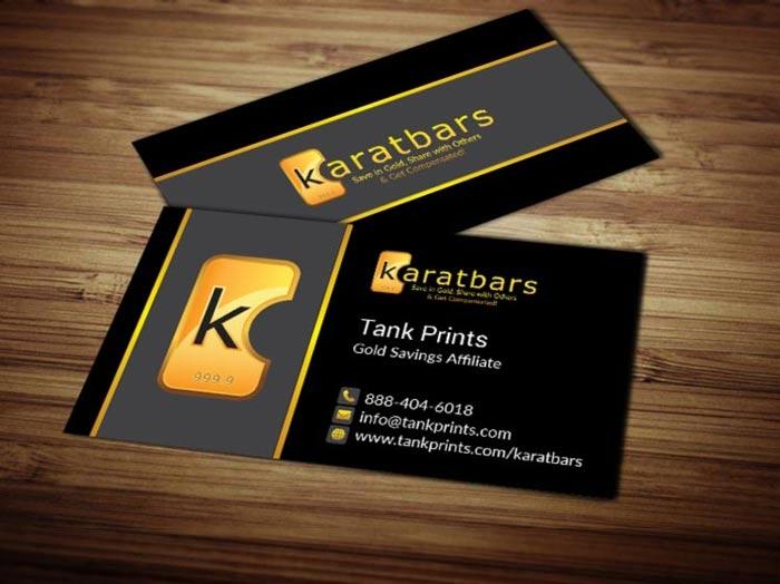 karatbars business cards