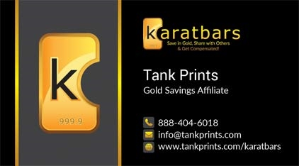 Karatbars business cards tank prints our wajeb Image collections