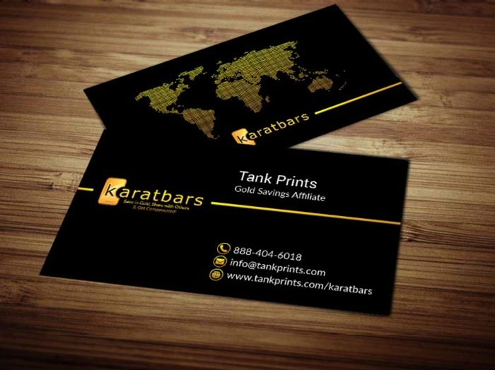 KaratBars Business Card Templates