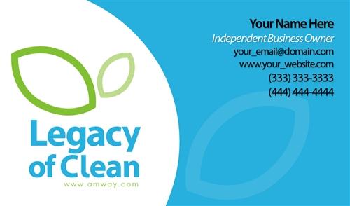 Legacy of clean business card design 1 colourmoves
