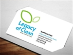 legacy of clean business cards 2