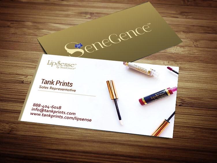 lipsense business card design 3