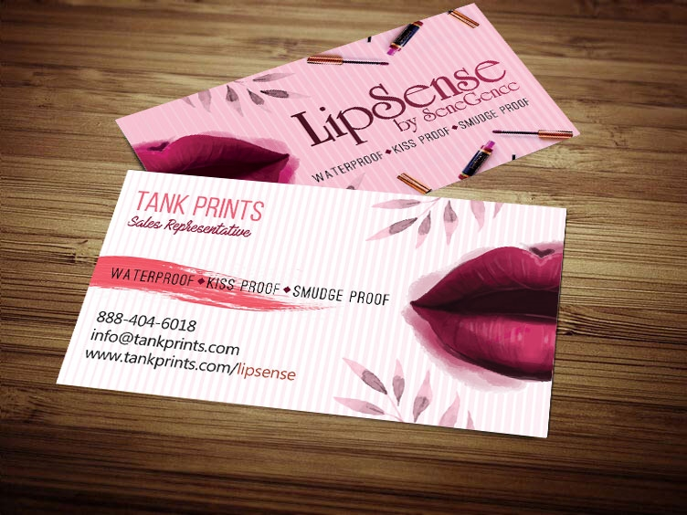 Preferred LipSense Business Card Design 5 TD56