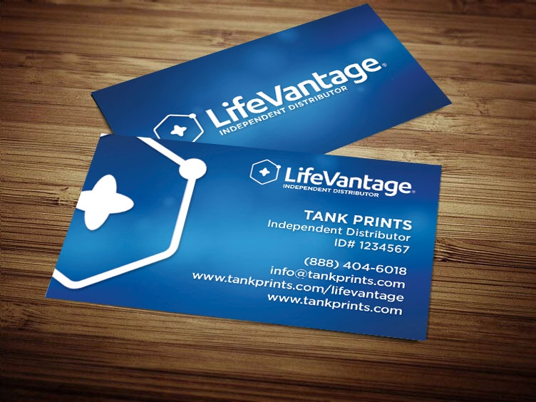 lifevantage business cards LifeVantage Business Card Design 1