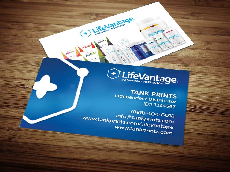lifevantage business cards LifeVantage Business Card Design 1 Modified