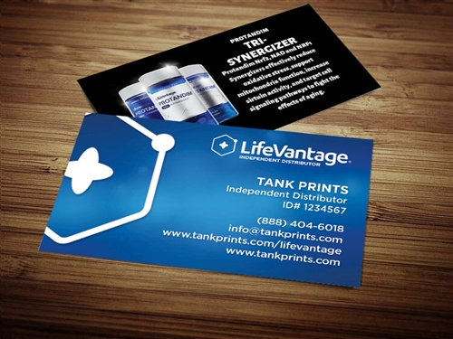 LifeVantage Business Card Templates