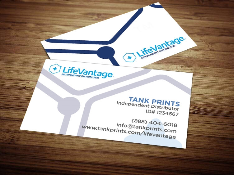 lifevantage business cards LifeVantage Business Card Design 2