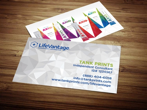 LiveVantage Business Card Template 3