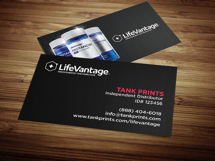 lifevantage business cards LifeVantage Business Card Design 5 Modified 2
