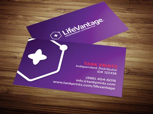 LifeVantage Business Card Design