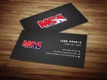 MCA Business Card Design 3