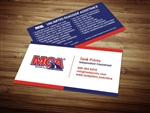MCA Business Card Design 4