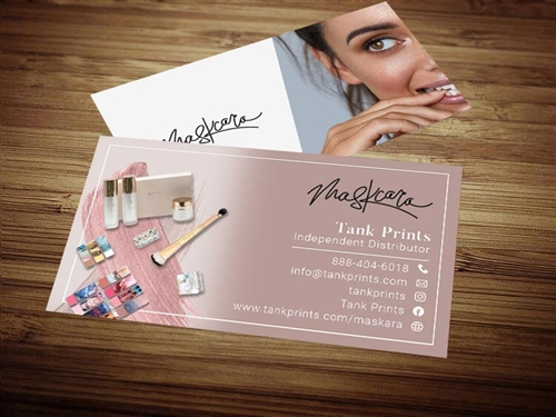 maskara beauty business cards 1
