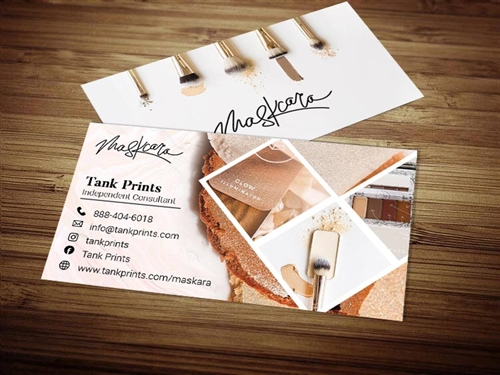 maskara beauty business cards 2