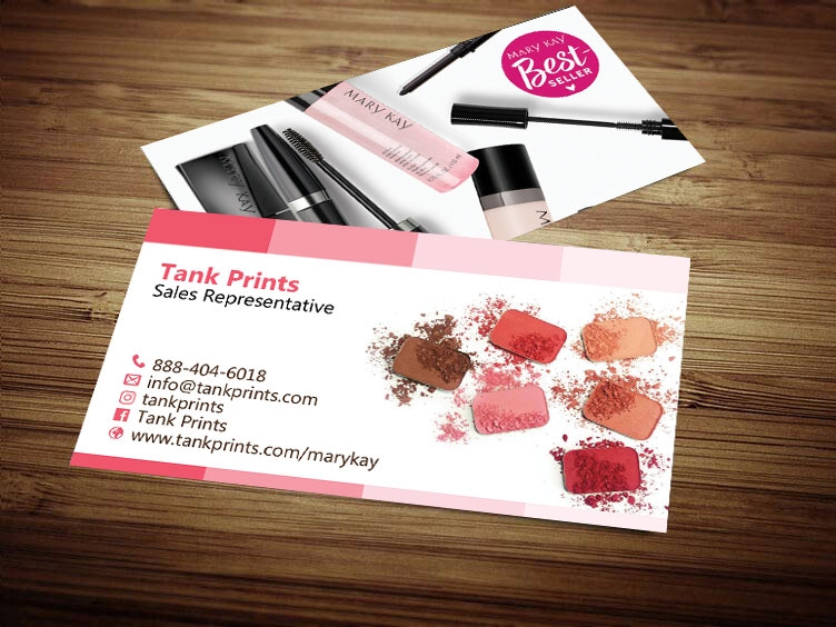 Mary Kay Business Card Design 2