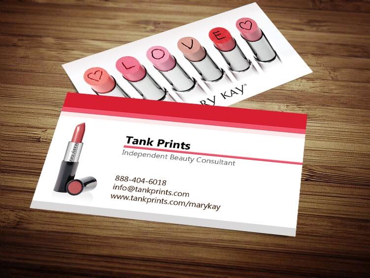 Mary kay business card design 3 colourmoves