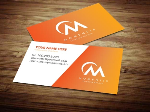 Business cards with 2 names oxynux momentis business card design 2 colourmoves