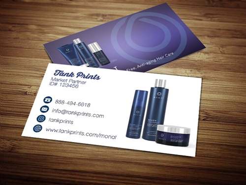 monat business cards