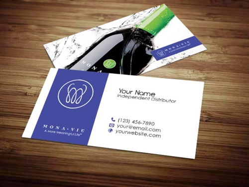 Monavie business card design 2 reheart Image collections