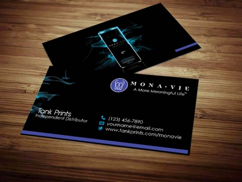 Monavie business card design 3 reheart Image collections