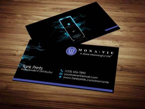 Monavie business card design 3 reheart Choice Image