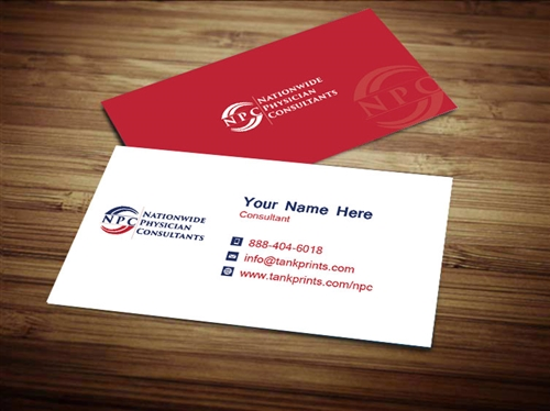 Nationwide physician consultants business card design 3 colourmoves