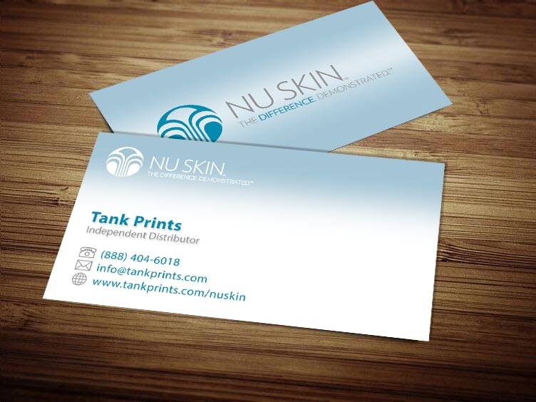 nu skin business card design 1