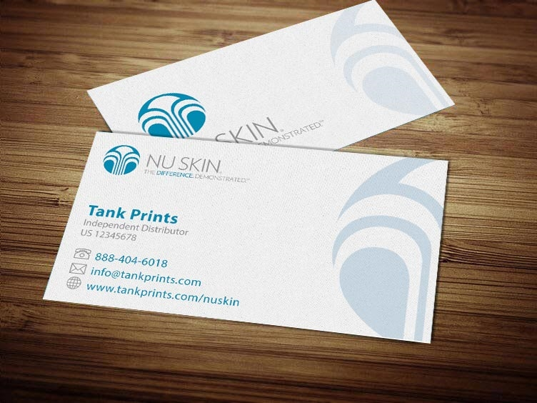 Nu Skin Business Card Design 3