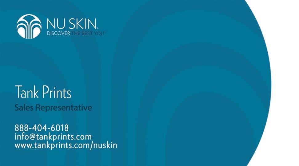 Nu Skin Business Card Design 4
